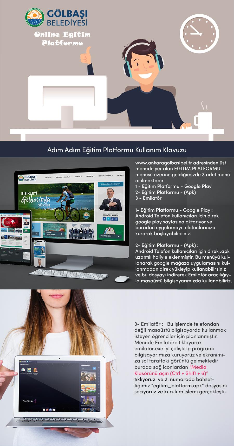 Eğitim Platformu  Nasıl Kullanılır