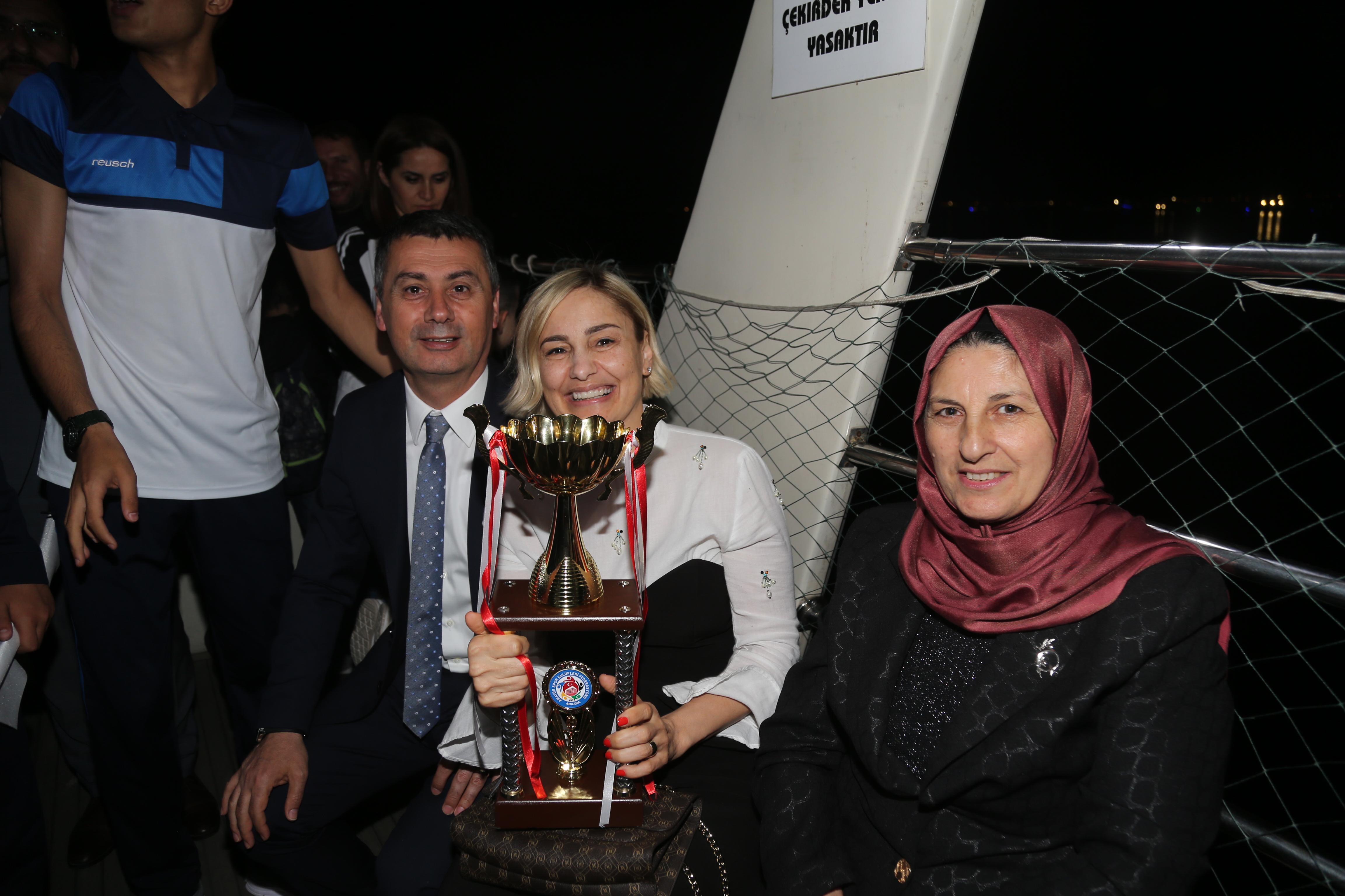 KUPALAR BAŞKAN ŞİMŞEK'E