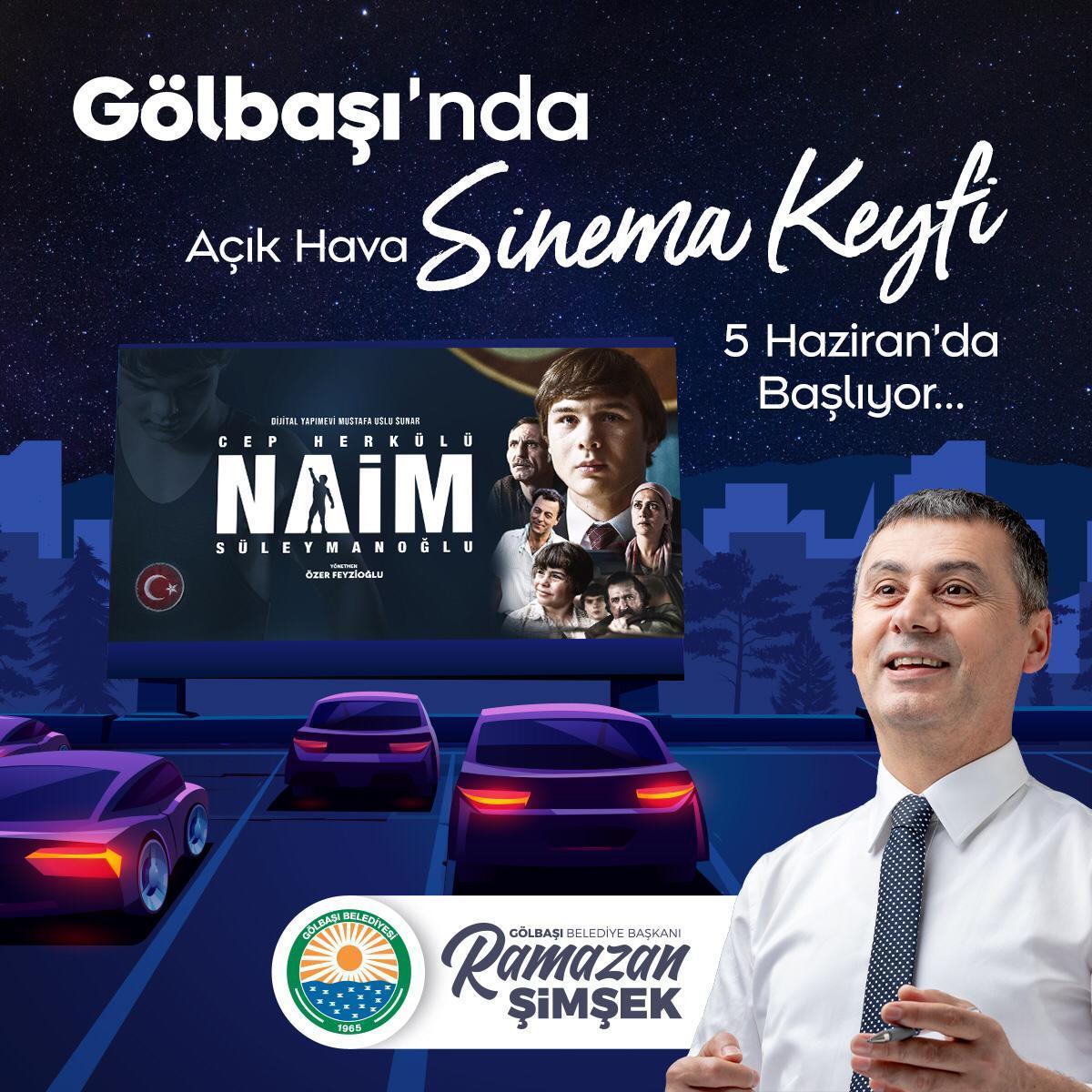 GÖLBAŞI'NDA SİNEMA KEYFİ BAŞLIYOR
