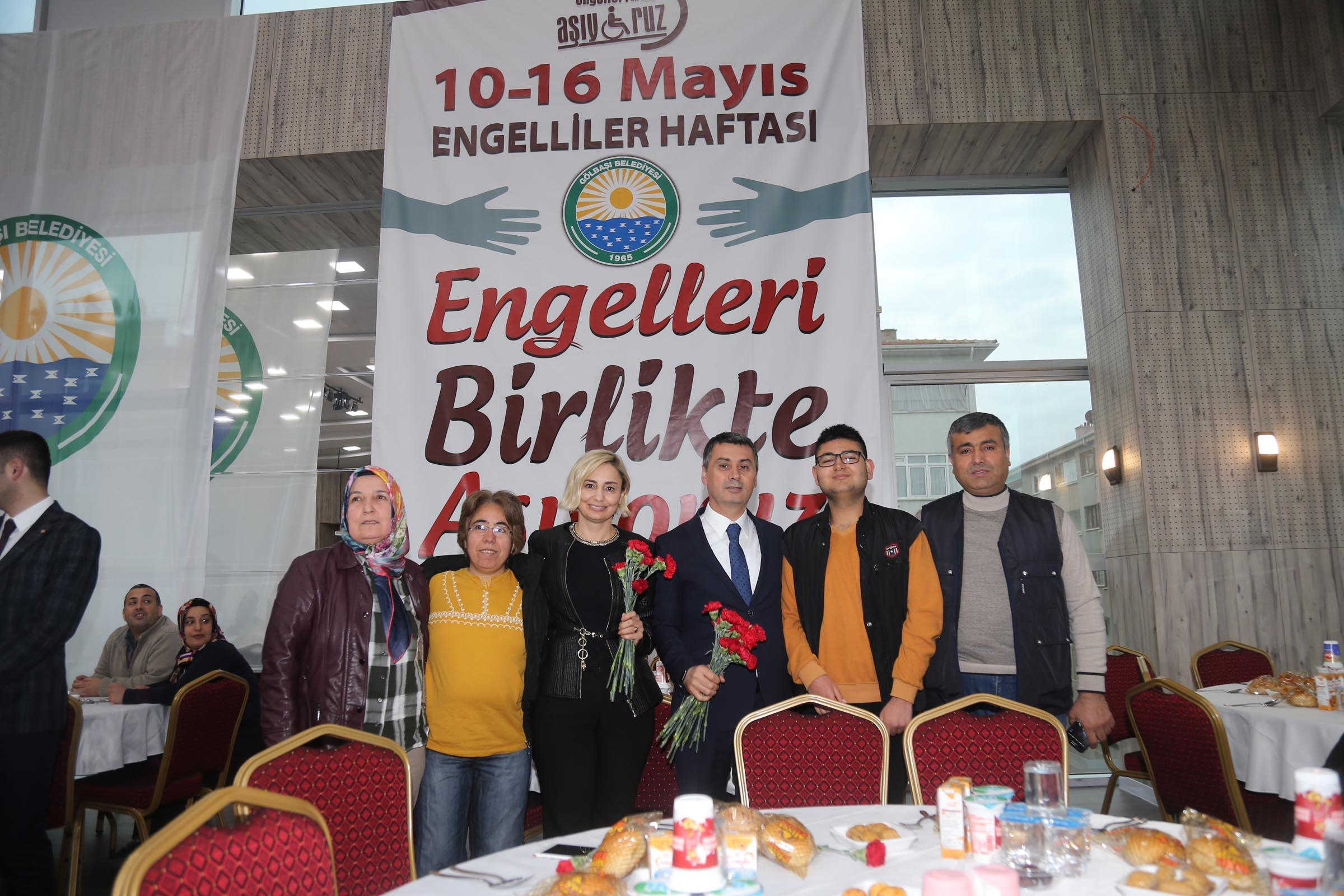 """ŞİMŞEK """"ENGELLERİ BİRLİKTE AŞIYORUZ"""""""