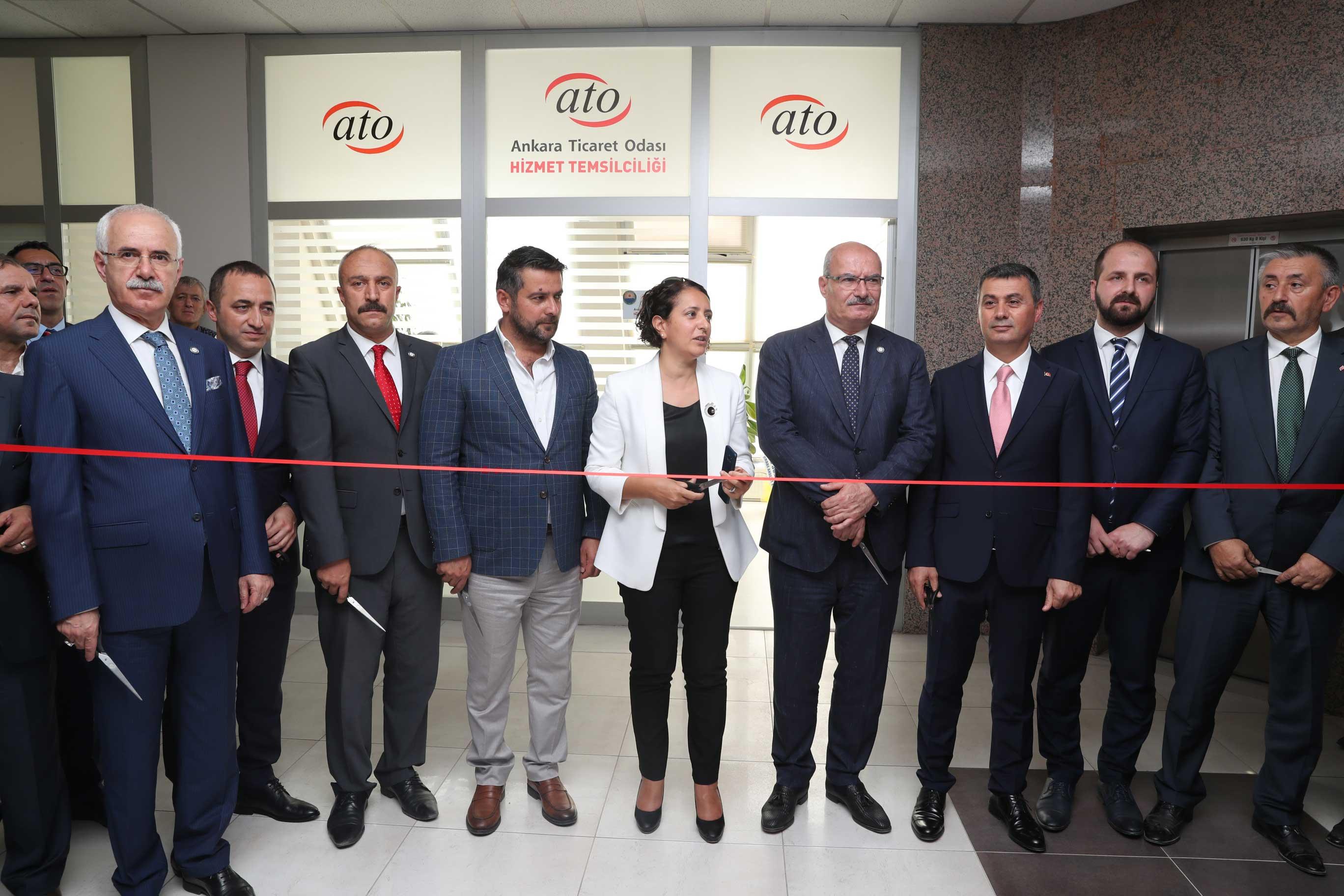 Ankara Ticaret Odası (ATO) Temsilciliği Gölbaşında Açıldı