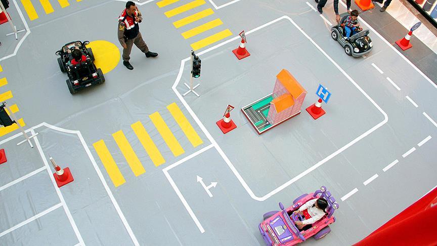Çocuk Trafik Eğitim Parkı Projesi'nin Yapımına Başlandı
