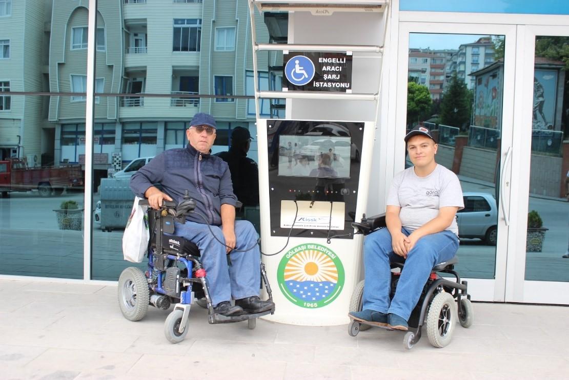 Engelli Araç Şarj İstasyonları Projesi Hayata Geçti