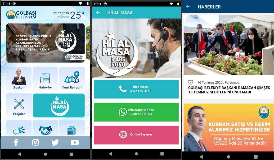 Gölbaşı Belediyesi Dijital ve Aktif Belediyecilik Platformu Kuruldu