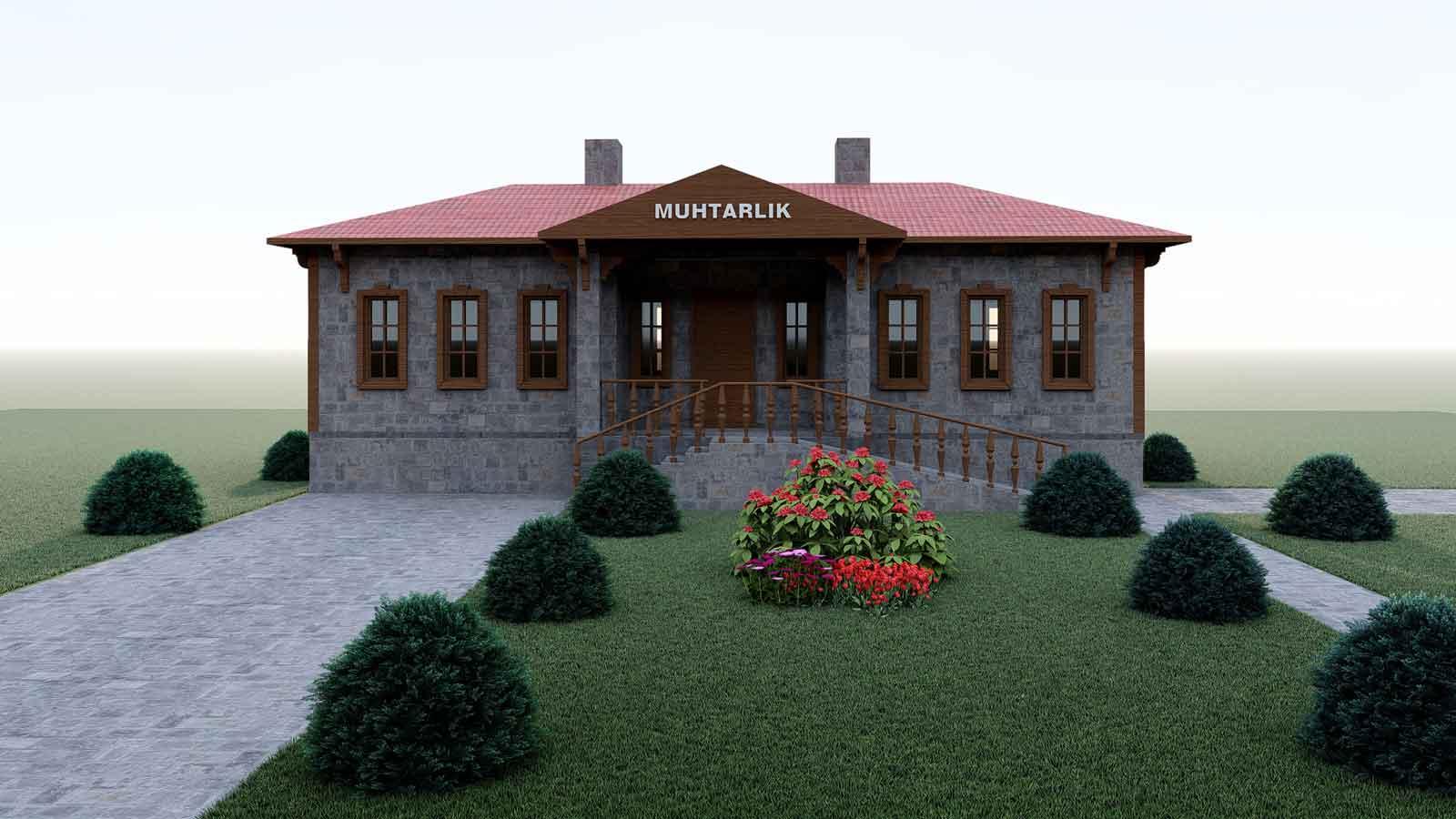 Muhtarlık Binaları Yapım Projesi'ne Başlandı